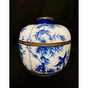 Grand Pot Ou Bol Couvert Chinois