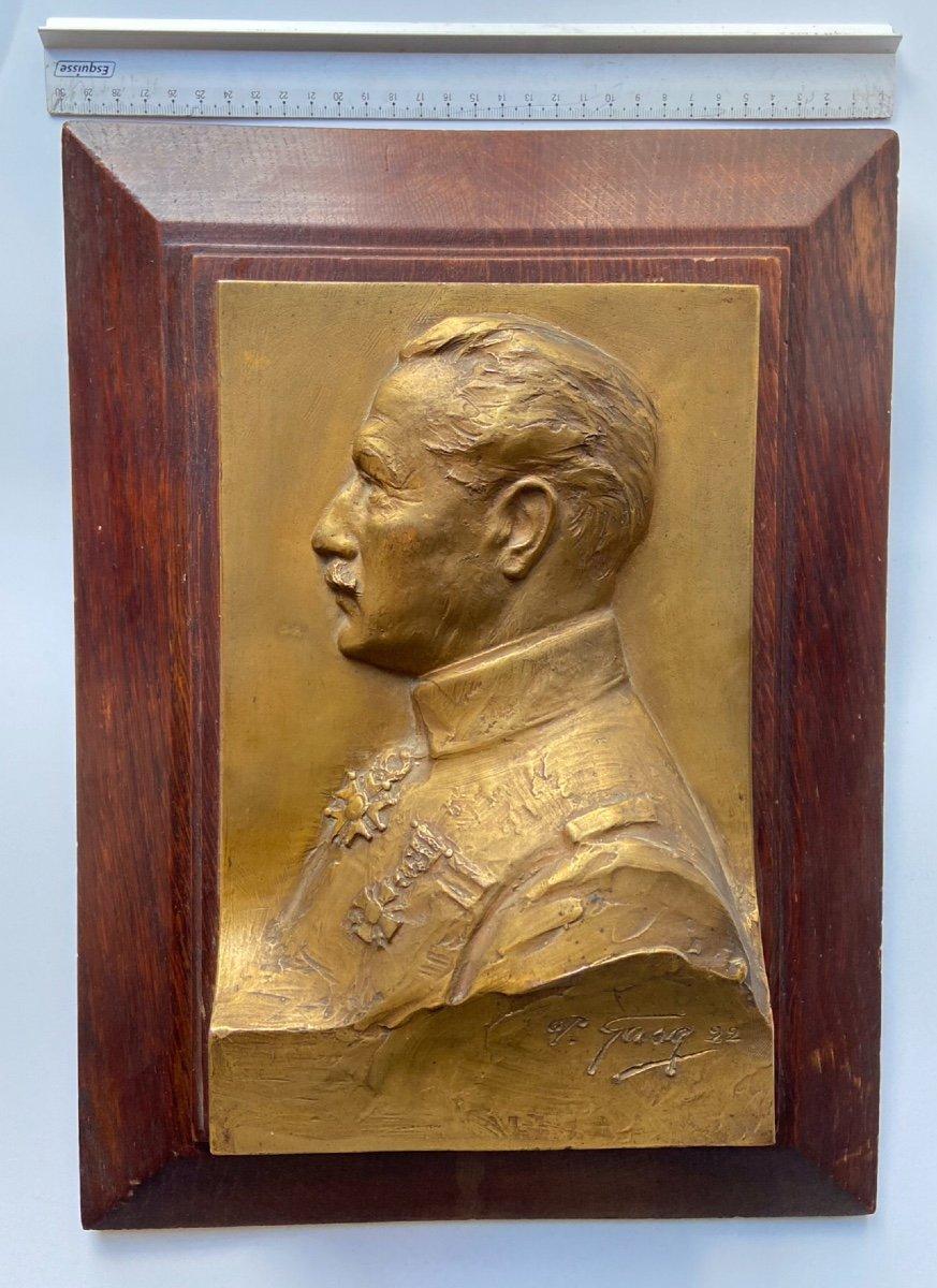 Cadre Bas Relief Bronze Paul  Gasq