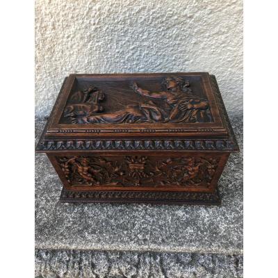 Napoleon III Sculpted Box, Les Arts