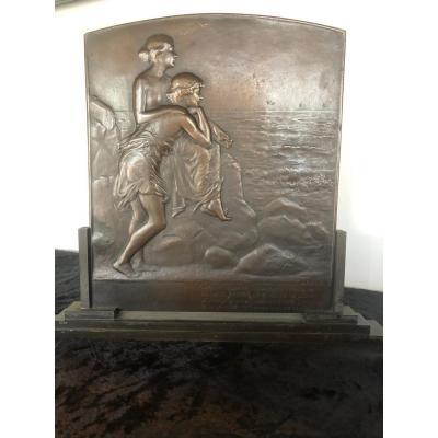 Pierre Lenoir Bronze Infinity Plate
