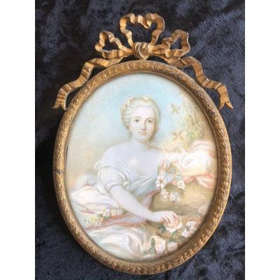 Miniature On Ivory 19 Eme