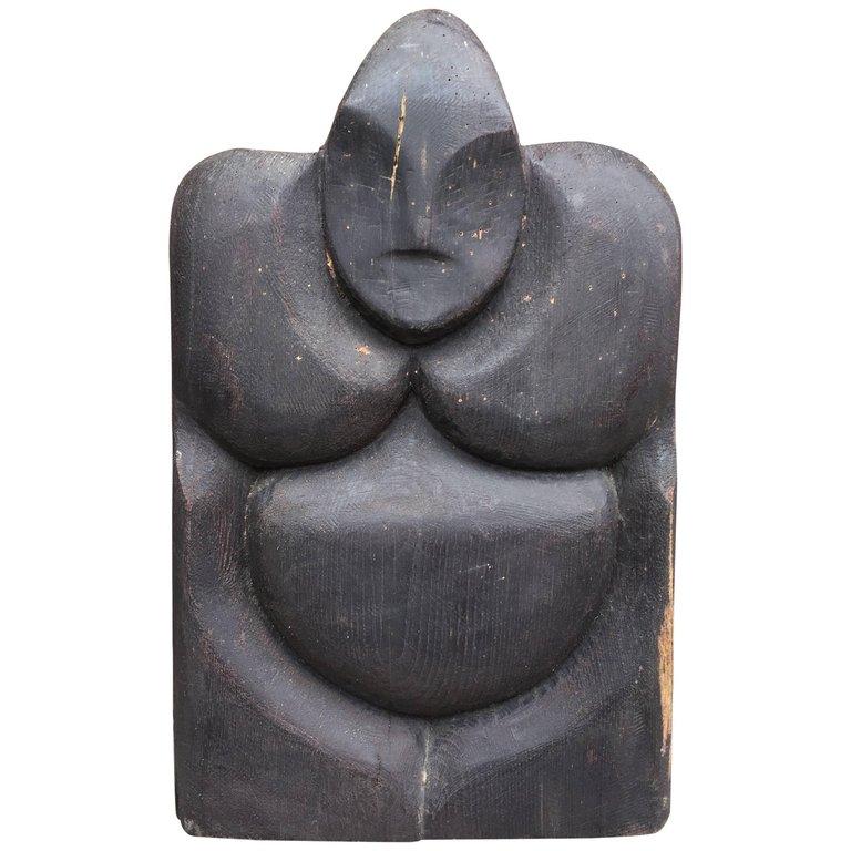 Jean Pierre Helle, Sculpture En Bois Flotté , Circa 1970