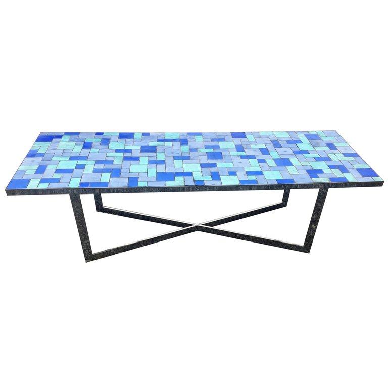 Grande Table De Salon (165 cm) Circa 1970