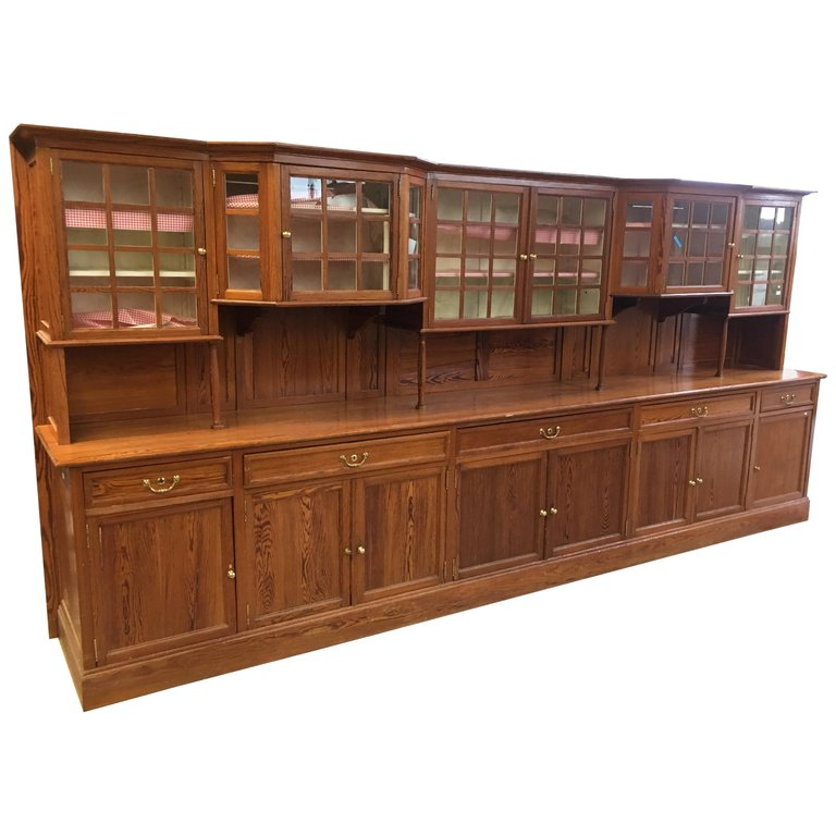 Exeptionelle Tres Large Sideboard In Picpin Circa 1900