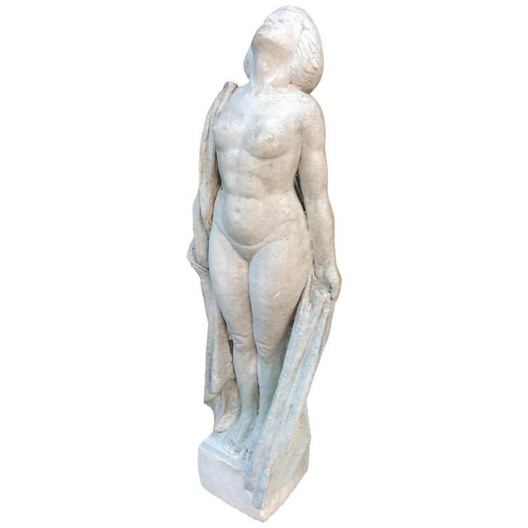 Ernestine Sirine-real, Grande Sculpture Art Deco Circa 1920/1930
