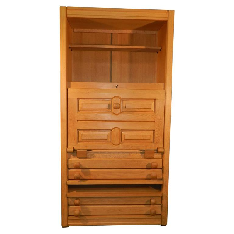 Guillerme And Chambron Secretary In Oak Edition Your Home Around 1970