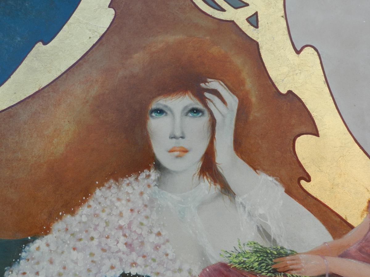 Pierre Petit, Oil On Canvas:-photo-2