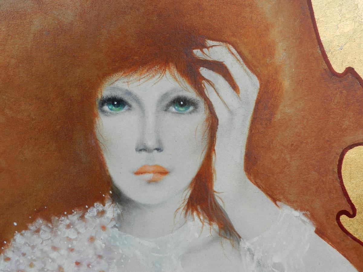 Pierre Petit, Oil On Canvas:-photo-1