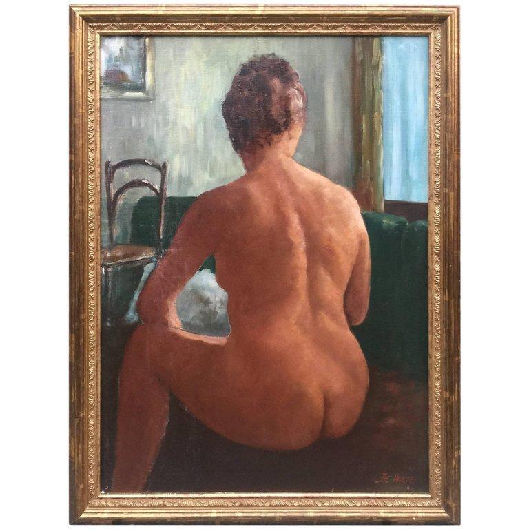 Jules-evariste De Paepe (1887-1968) , Huile Sur Toile, Signée