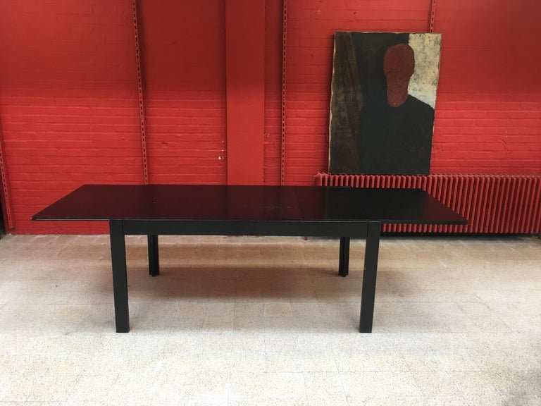 Oak Table Circa 1970, 260 Cm Open