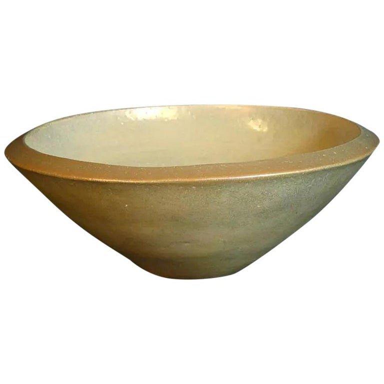 Mobach, Grande Jatte En Ceramique , Signe