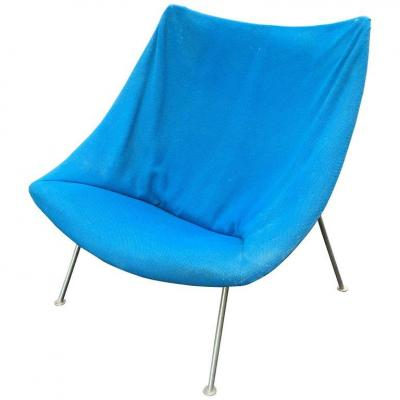 Pierre Paulin, Fauteuil Oyster, Easy Chair F157 , Circa 1959