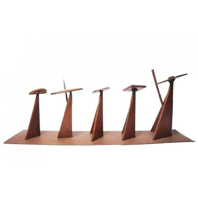 Guylaine Guy (1929) Procession. Metal Assembly. Height 33 Cm, Width 85.5 Cm.