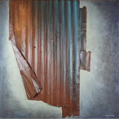 Guylaine Guy (1929) Onirisme, 86.  Technique Mixte. Titrée, Datée Au Dos, Signée En Bas à Droit