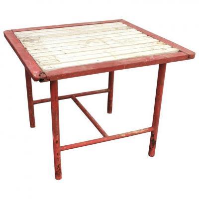 Table  Art Deco (d'un Salon) Attribuée à Pierre Dariel Ou Robert Mallet Stevens