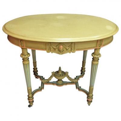 Gueridon De Style Louis XVI  Circa 1900/1930