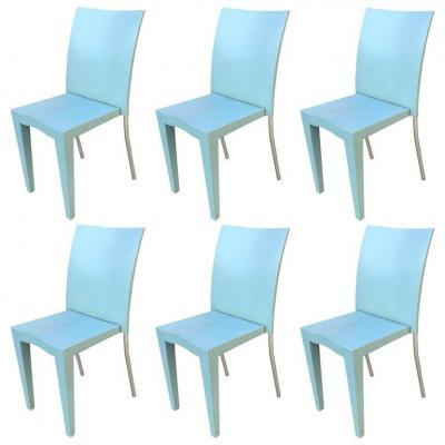 Philippe Starck, 6 Chaises Vintage  Miss Global, Circa 1985