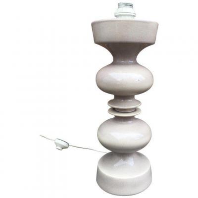 Grande Lampe En Ceramique , Circa 1950/1960