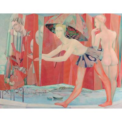 Jacques Boéri (1929-2004), Acrylic On Canvas, Signed And Dated, 113x145 Cm