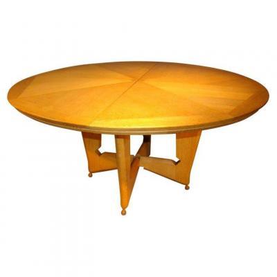 Guillerme Et Chambron, Rare Victorine Table, Your House Edition, Circa 1960