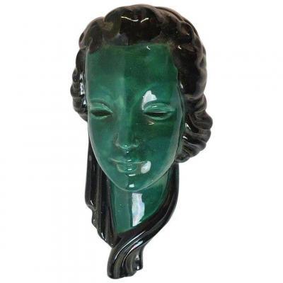 Ceramic Mask Circa 1950