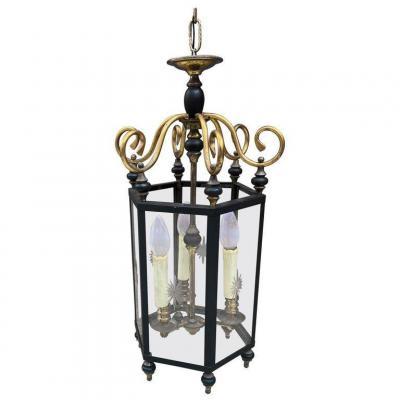 Neoclassical Lantern Circa 1950