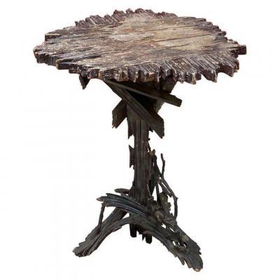 Pedestal Art Folk Circa 1900/1930