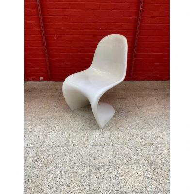 "Verner Panton ""Panton chair"" edition originale Herman Miller circa 1960"