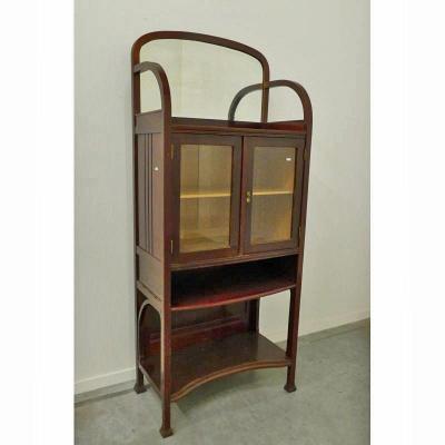 Rare Showcase Cabinet By Michael Thonet N ° 20793 Model Catalog 1904