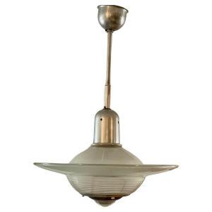 Holophane Pendant Light Circa 1940/1950, Very Good Condition