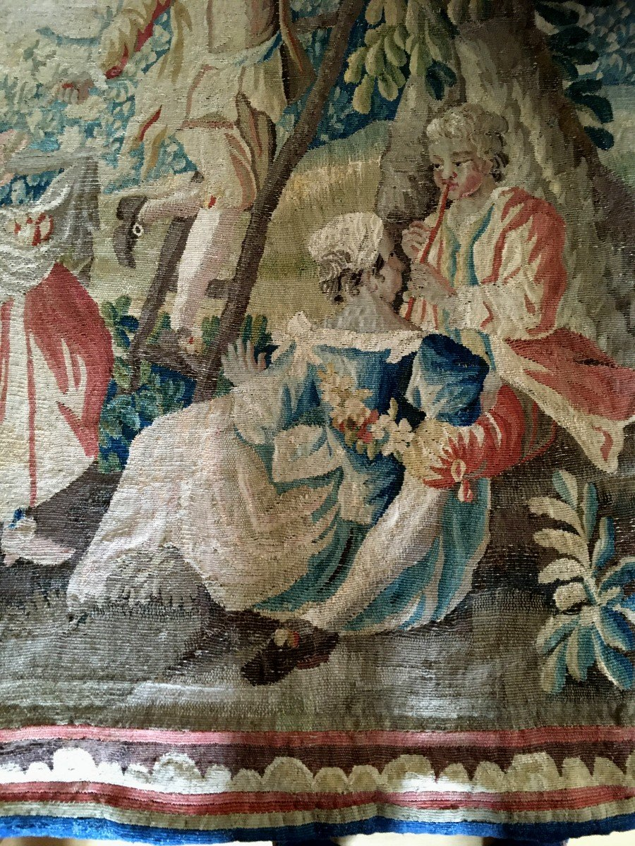 Polychrome Tapestry Manufacture Royale Aubusson-photo-2
