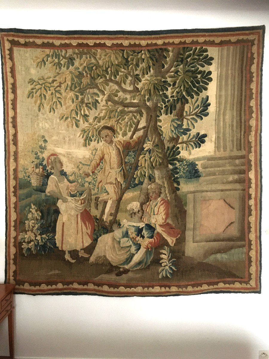 Polychrome Tapestry Manufacture Royale Aubusson