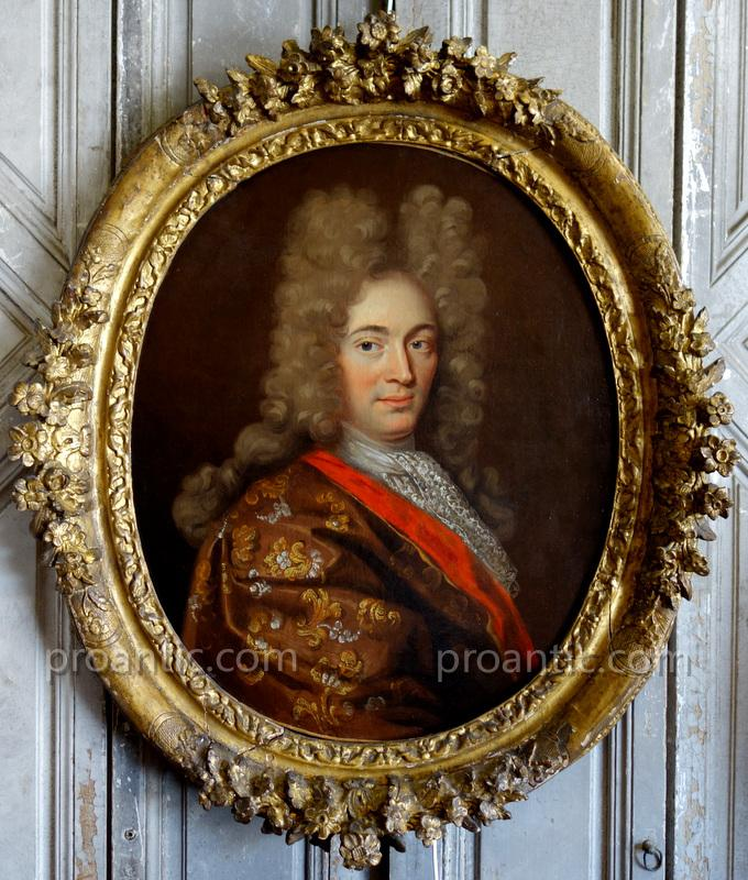 Important Portrait d'Homme - XVIIIème Siècle