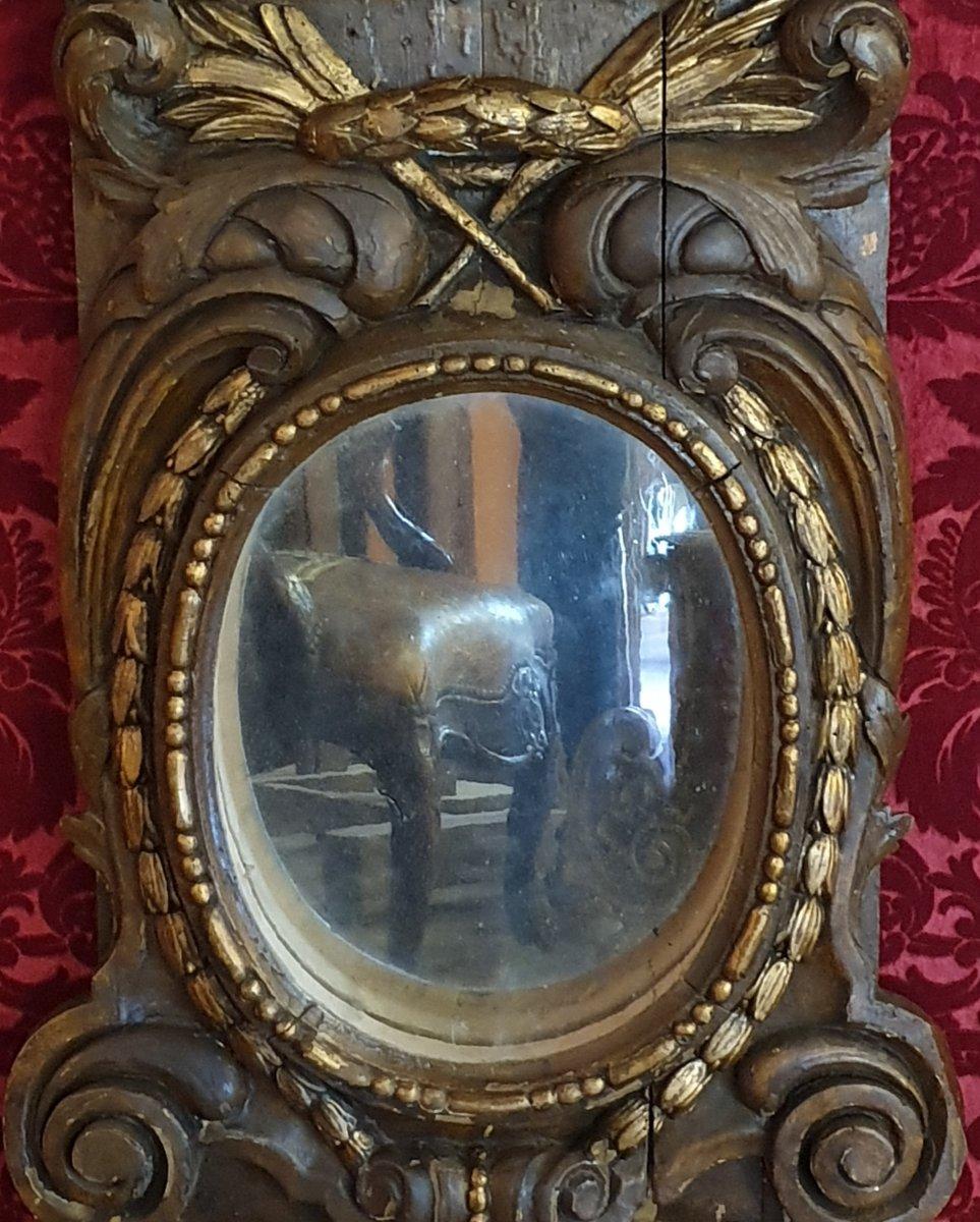 Paire d' Eléments Décoratifs Fin Du XVIIIème Siècle-photo-2