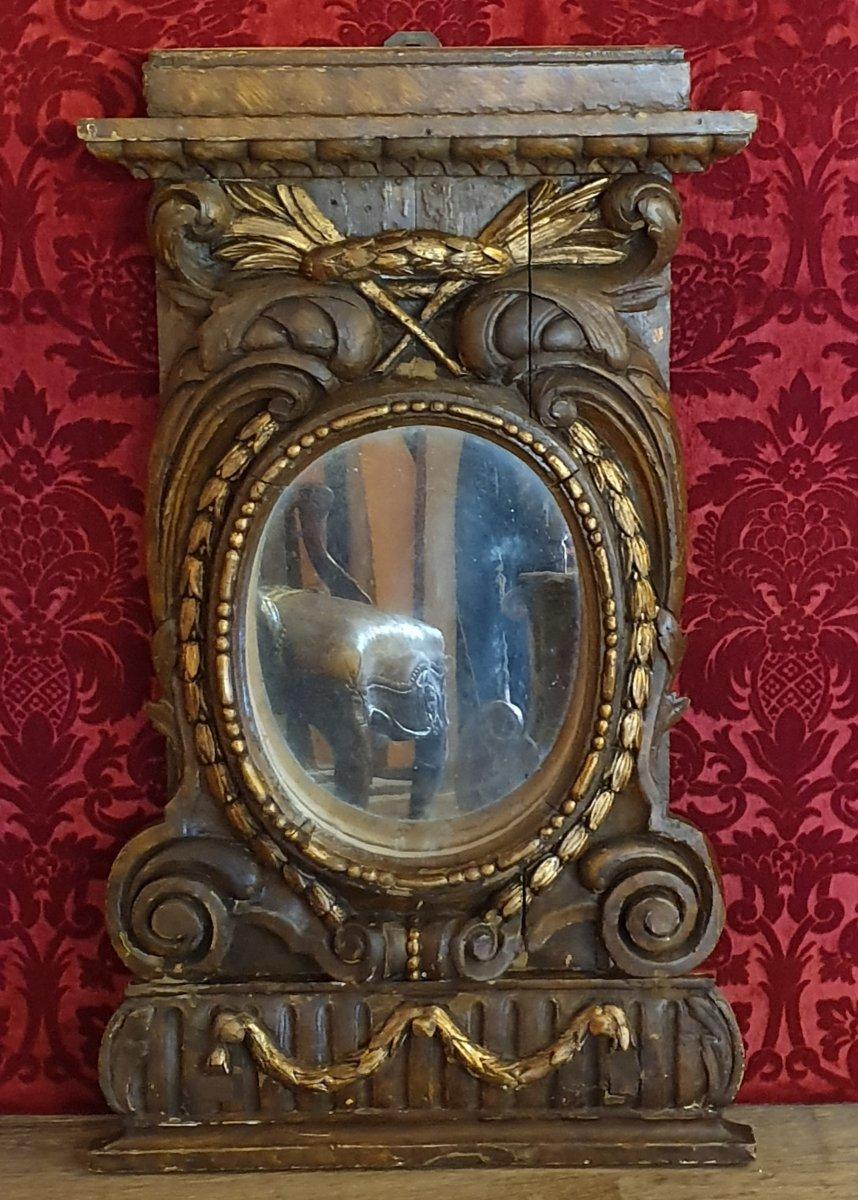 Paire d' Eléments Décoratifs Fin Du XVIIIème Siècle-photo-3