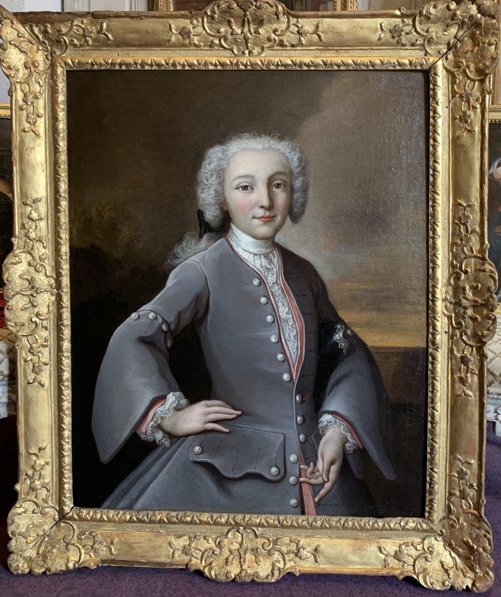 Portrait Un Jeune Prince XVIIIe