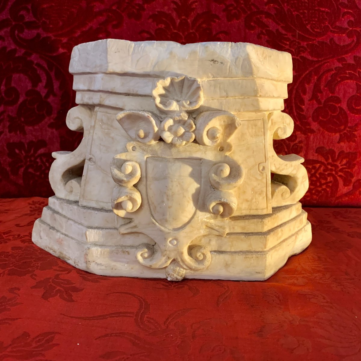 Beautiful Carrara Marble Baroque Decor - Eighteenth Time