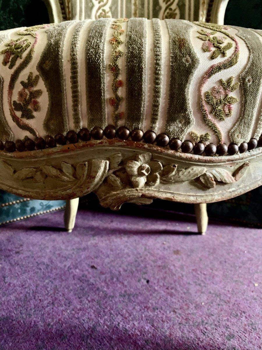 Paire De Fauteuils D'époque Louis XV-photo-2