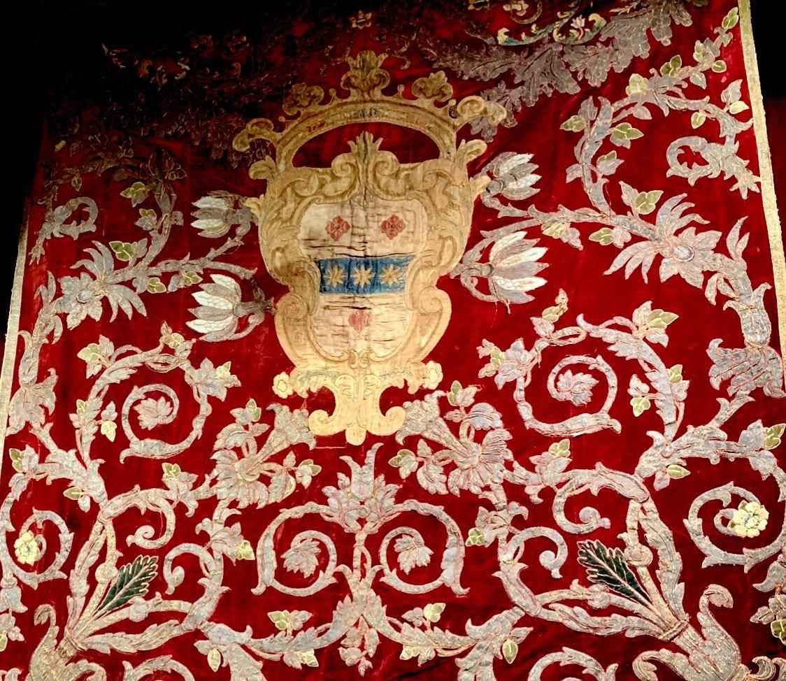 Rare Chancelière Fin XVIIe Siècle Naples