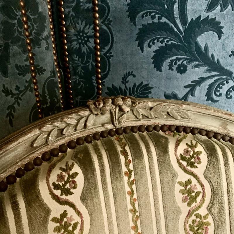 Paire De Fauteuils D'époque Louis XV-photo-3