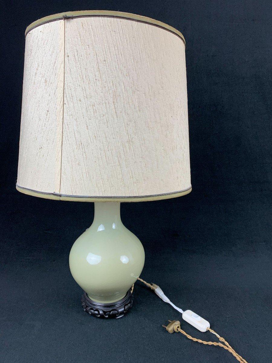 Vase Asie Monté En Lampe -photo-1
