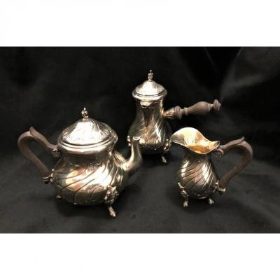Service 3 Pieces In Silver Said Egoiste