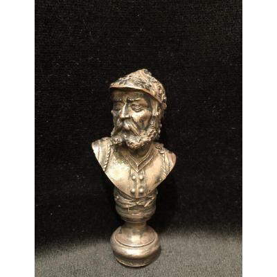 Cachet-Bronze et cuivre- Soldat Romain