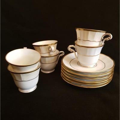 Service à Café En Porcelaine De Limoges - Bernardaud Malmaison