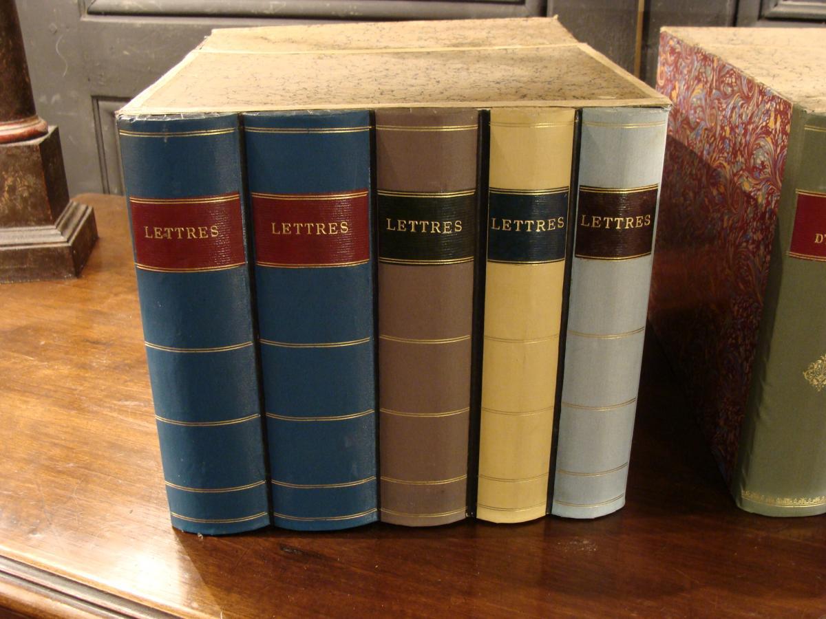 2 Boites Cartonniers En Faux Livres-photo-2