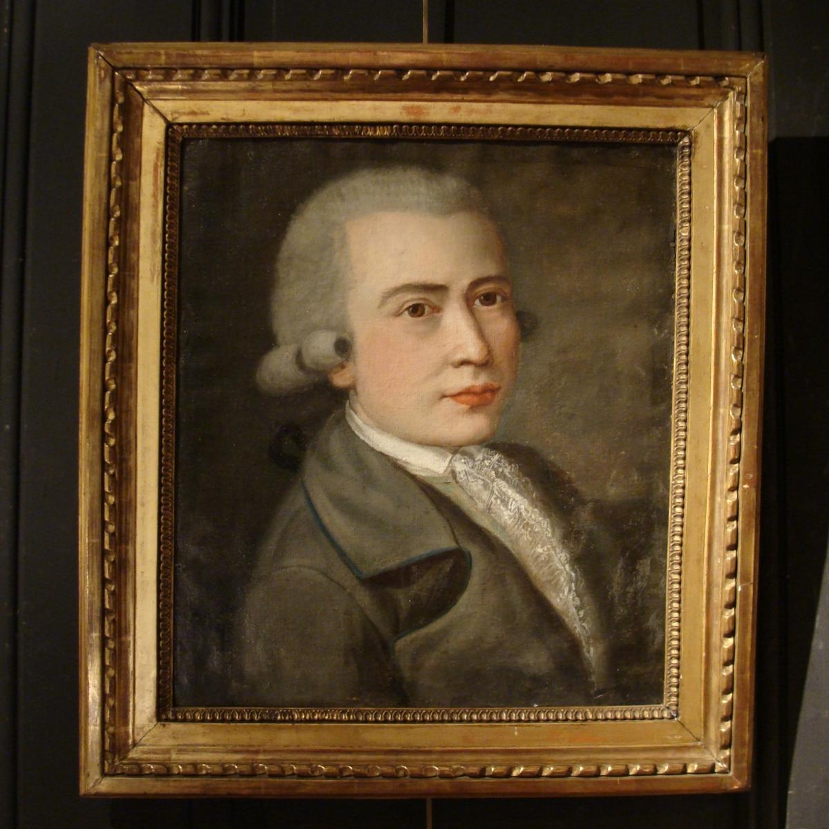Portrait d'Homme XVIIIème