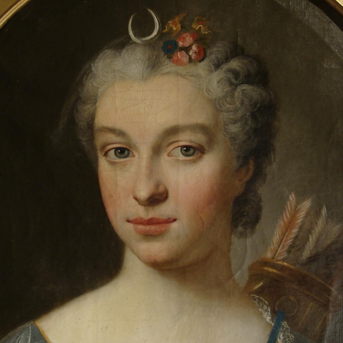 Portrait Diane Chasseresse 18ème