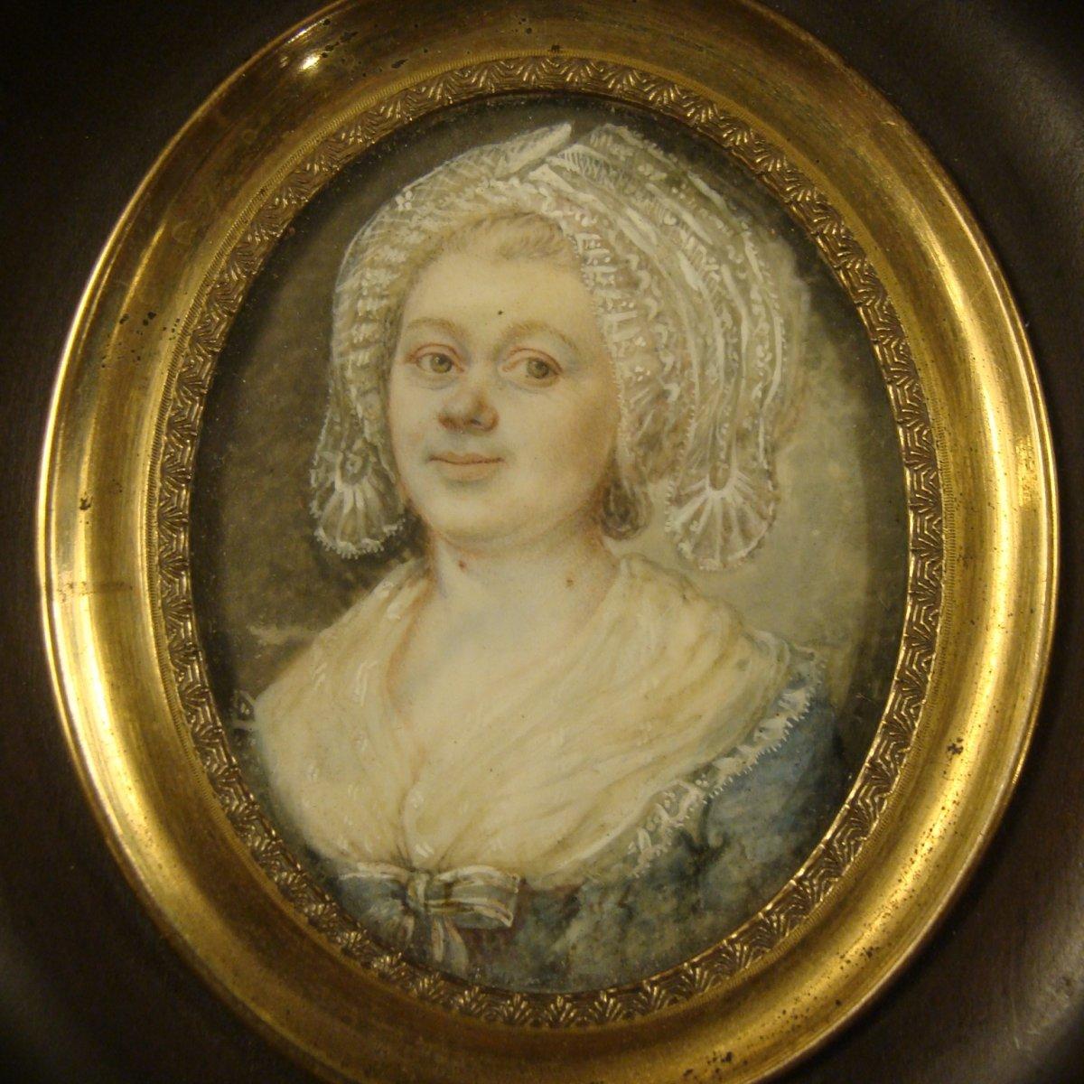 Portrait Of Woman, Miniature