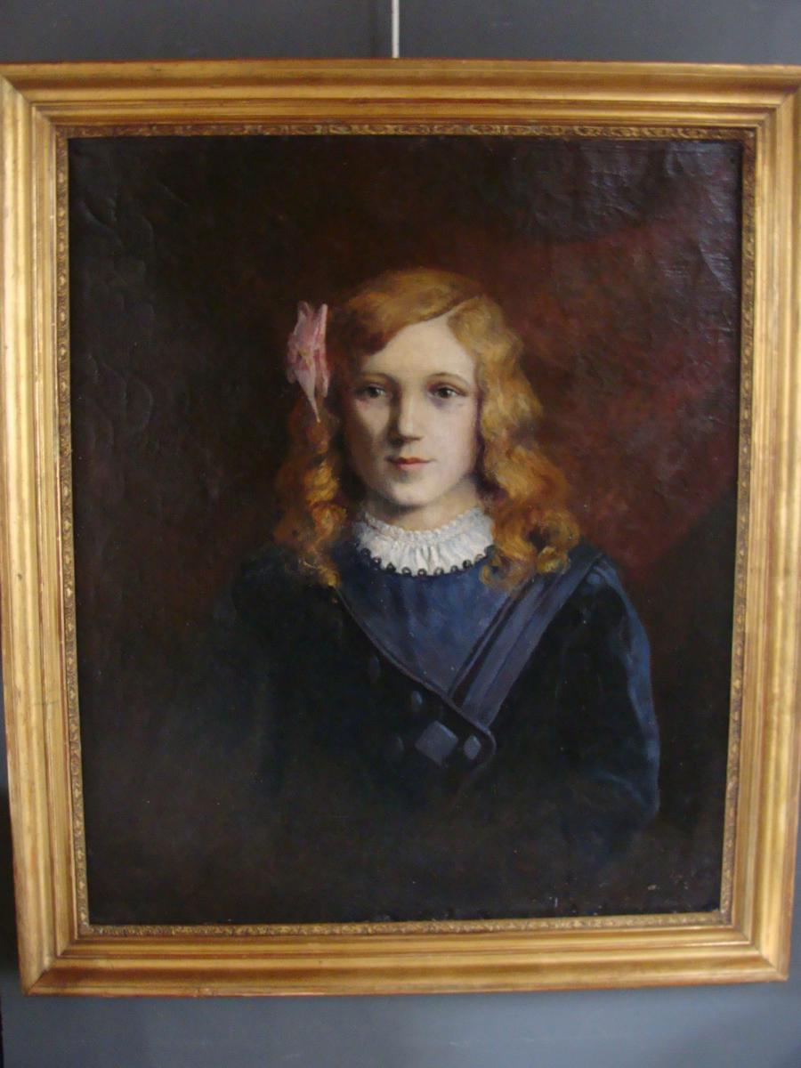 Nineteenth Portrait Of Young Girl
