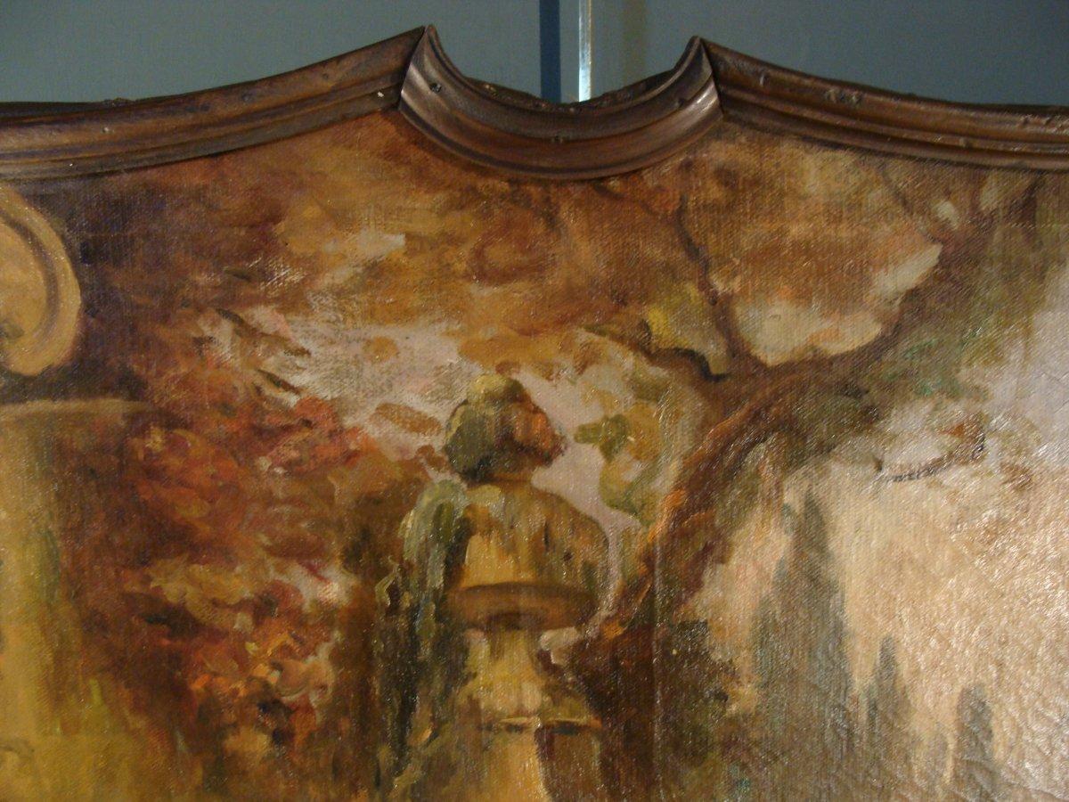 Scène Champêtre Début 19ème-photo-1